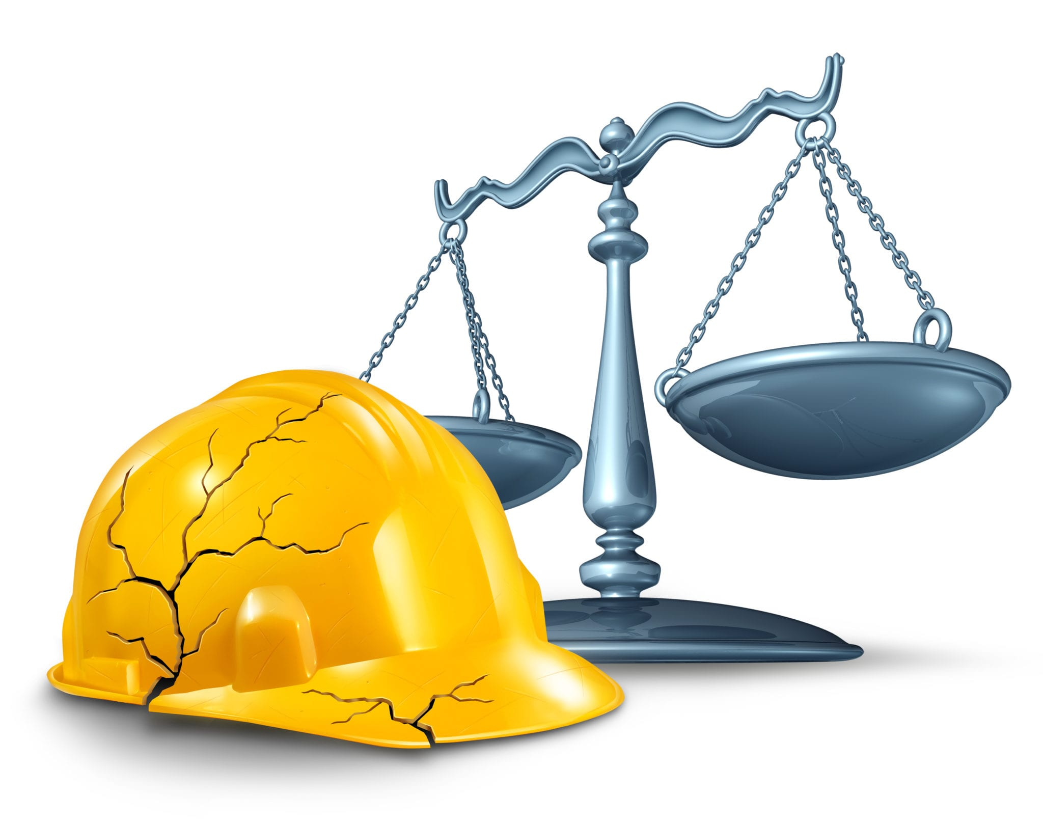 hard hat and scale